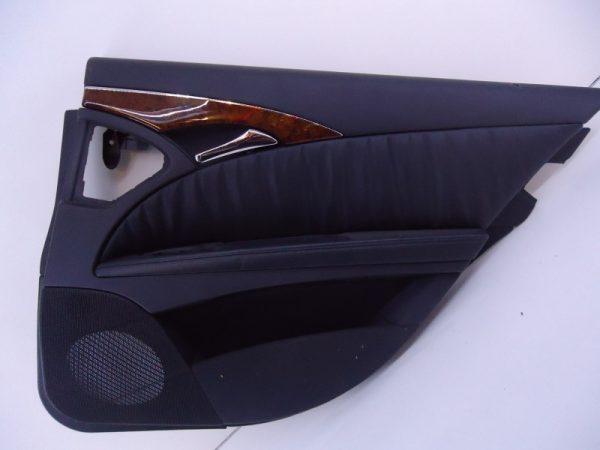E-KLASSE W211 DEURPANEEL ZWART LEDER RECHTSACHTER-0