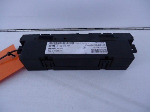 S-KLASSE W220 KACHEL MODULE STELMOTOR A220830008-0
