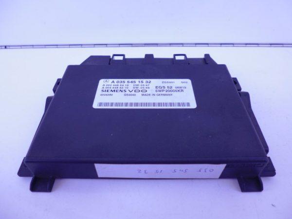 E-KLASSE W211 EGS MODULE A0355451532 EGS52-0