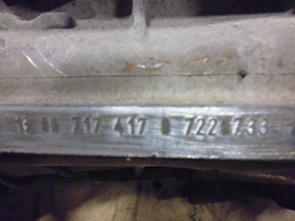E230 W210 VERSNELLINGSBAK 717417 GEBRUIKT-2945