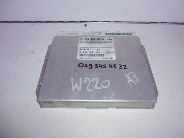 S-KLASSE W220 RELAIS MODULE ESP A0295454532-0