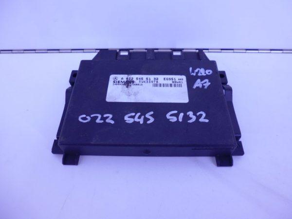 S-KLASSE W220 S430 500 EGS51 MODULE A0225455132-0