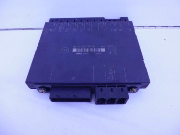 S-KLASSE W220 RELAIS MODULE STOELVERSTELLING RECHTS VOOR MET MEMORY A2208206926-0