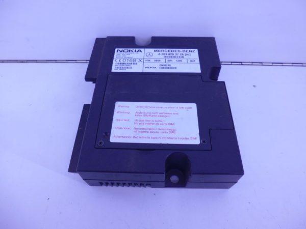 C-KLASSE W203 RELAIS MODULE TELEFOON NOKIA VAST A2038203726-0