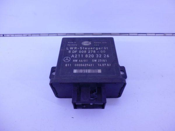 E-KLASSE W211 RELAIS MODULE HOOGTEREGELING KOPLAMP LWR A2118203226-0