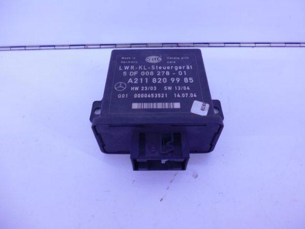 E-KLASSE W211 RELAIS MODULE HOOGTEREGELING KOPLAMP LWR A2118209985-0