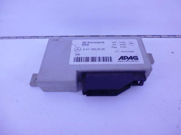 E-KLASSE W211 RELAIS MODULE ALARM A2118205026-0