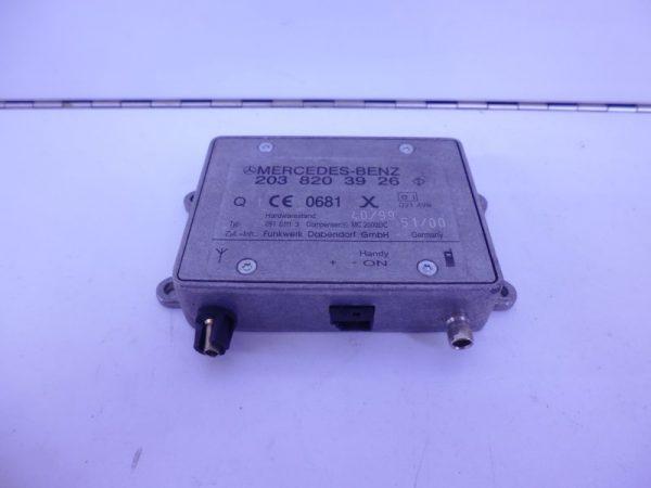 C-KLASSE W203 RELAIS MODULE TELEFOON NOKIA A2038203926-0