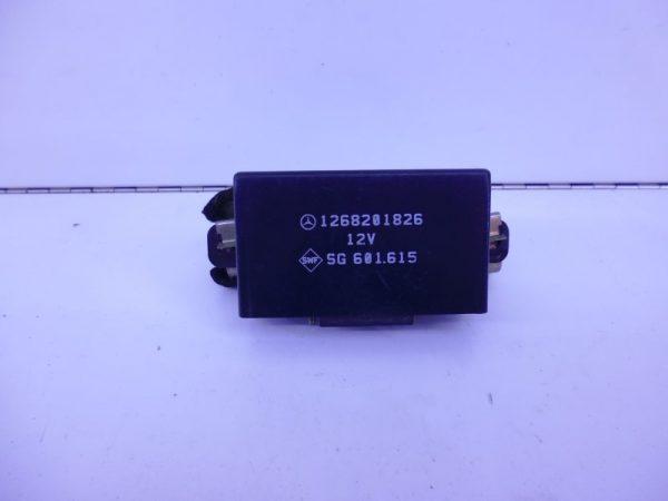 S-KLASSE W126 RELAIS MODULE STOELVERWARMING A1268201826-0