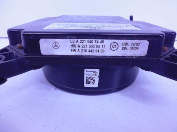 S-KLASSE W221 DISTRONIC DTR REGELAPPARAAT MODULE A2215408445-3394