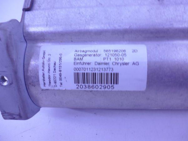 C-KLASSE W203 DASHBOARD AIRBAG A2038602905-4102