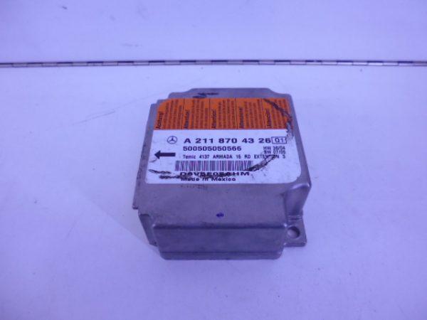 E-KLASSE W211 RELAIS MODULE AIRBAG A2118704326-0