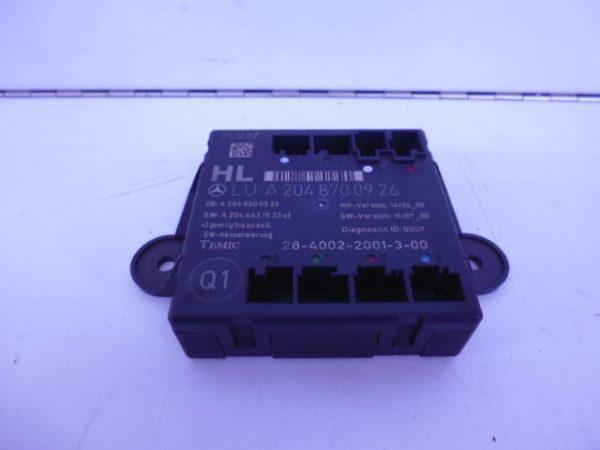 C-KLASSE W204 DEUR MODULE LINKSACHTER A2048700926-0