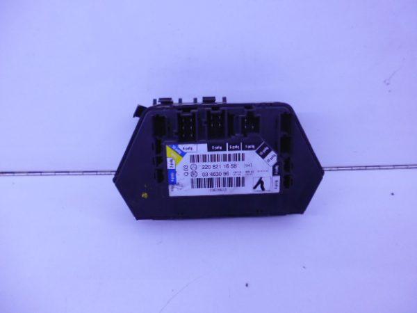 S-KLASSE W220 MODULE STOELVERSTELLING RECHTSACHTER A2208211658-4686