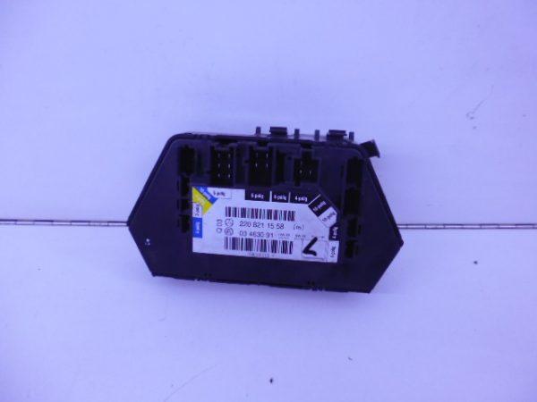 S-KLASSE W220 MODULE STOELVERSTELLING LINKSACHTER A2208211558-4688