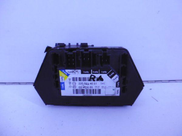 S-KLASSE W220 MODULE STOELVERSTELLING RECHTSACHTER A2208214651-4731