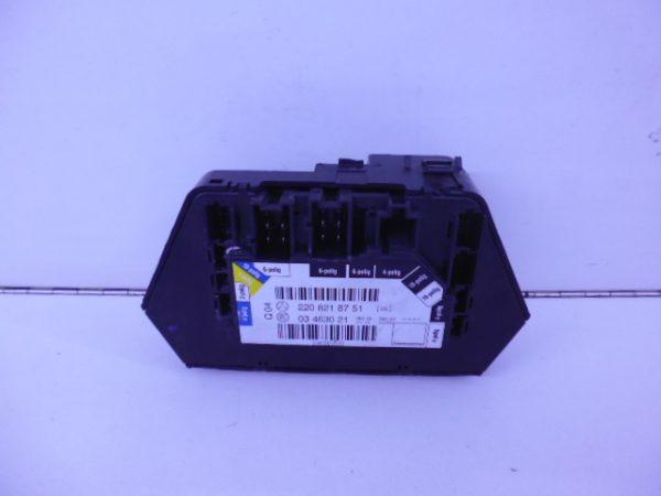 S-KLASSE W220 MODULE STOELVERSTELLING LINKSVOOR A2208218751-4698