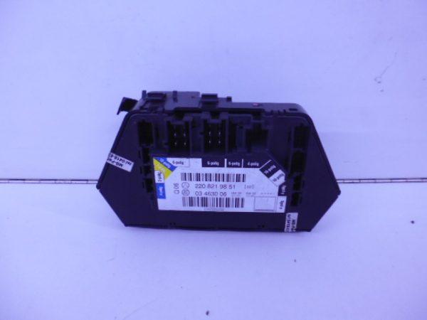 S-KLASSE W220 MODULE STOELVERSTELLING RECHTSVOOR A2208219851-4702