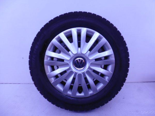 VW GOLF 6 STALEN VELGEN 15 INCH WINTERBANDEN 1K0601027C-0