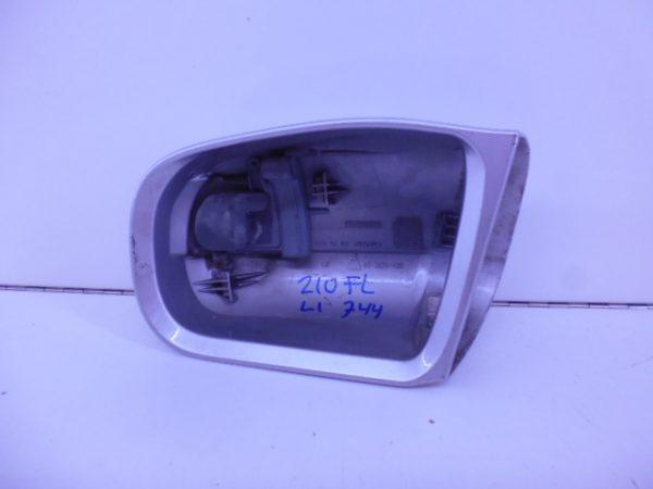 MB E-KLASSE W210 FL SPIEGELKAP LI ZILVER A2108100164 9744-5338