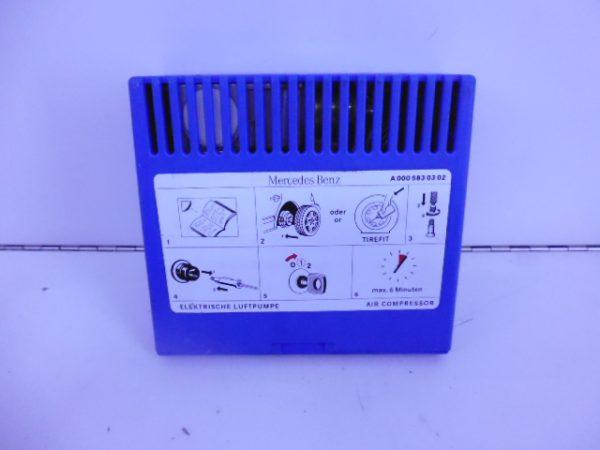 SLK-KLASSE R170 TIREFIT COMPRESSOR NOODWIEL A0005830302-0