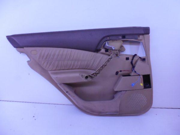 S-KLASSE W220 DEURPANEEL CREME LEDER LA A2207302170-0
