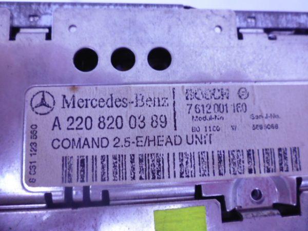 S-KLASSE W220 NAVIGATIE COMAND SCHADE A2208200389-6416