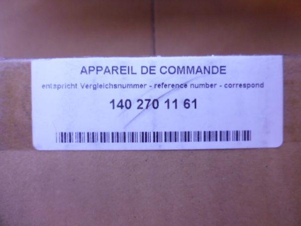 7226.. AUTOMAAT ELECTRONISCHE REGELMODULE A1402701161-6485