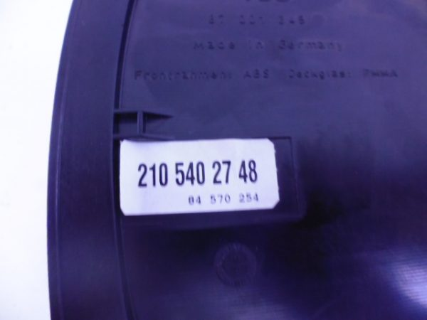 E-KLASSE W210 E55 AMG TELLERKLOK COMBIKLOK A2105402748-6656