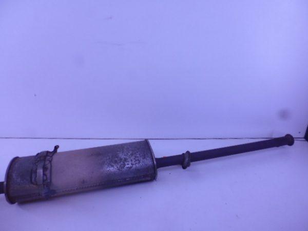 A-KLASSE W168 140 BENZINE ACHTERDEMPER A1684902121-0