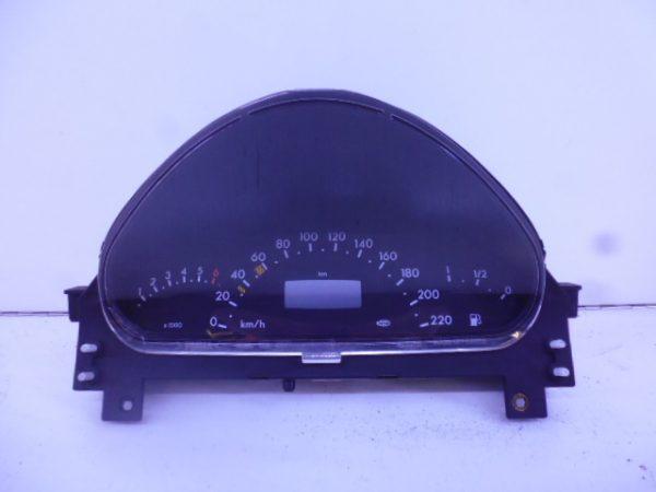 A-KLASSE W168 BENZINE TELLERKLOK COMBIKLOK A1685404811-0