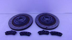 S-KLASSE W222 S500 REMSCHIJF SET ACHTER A2224200772-0