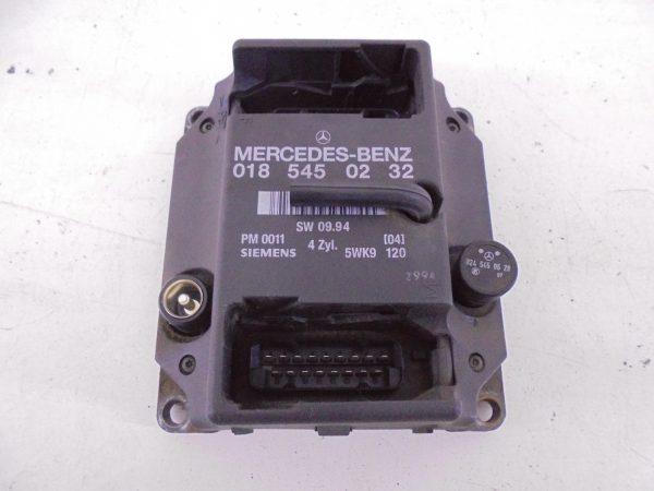 C-KLASSE W202 C180 MOTORCOMPUTER ECU ONTSTEKINGSMODULE A0185450232-0