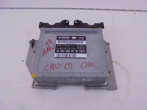 C-KLASSE W202 C180 MOTORCOMPUTER ECU A0215459732-0