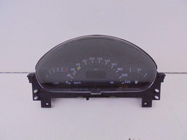 A-KLASSE W168 BENZINE TELLERKLOK COMBIKLOK A1685407711-0