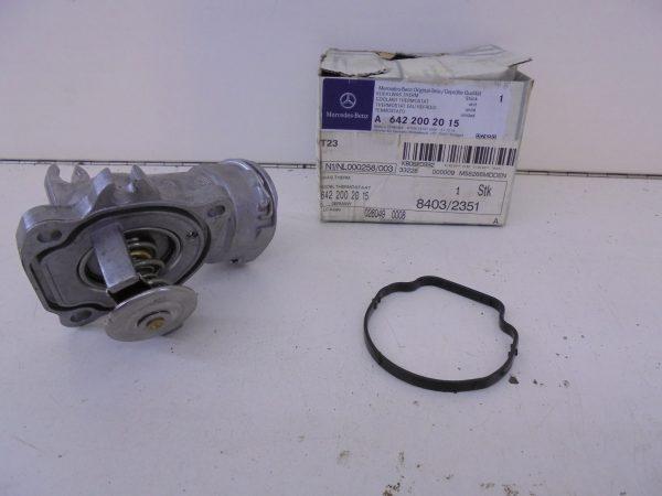 E-KLASSE W211 V6 CDI THERMOSTAAT MET HUIS NIEUW A6422002015-8982