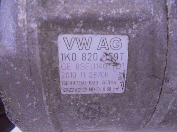 SEAT IBIZA 6J FR 1.4 TSI AIRCOPOMP AIRCOCOMPRESSOR 1K0820808A 1K0820059T-9537