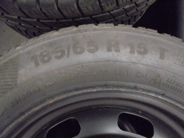 PEUGEOT 208 WINTERSET 15 INCH CONTI M+S-9588