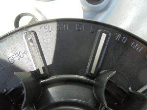 VW T5 STALEN VELGSET NIEUW 16 INCH 7H0601027D -9741
