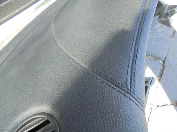 CLS-KLASSE W219 AMG DASHBOARD ZWART LEDER GESTIKT A2196800087 9E44 A2198600502-9970
