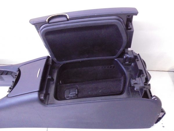 CLS-KLASSE W219 AMG MIDDENCONSOLE ZWART LEDER A2196803150 9E44-10027