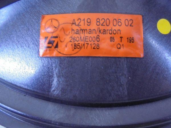 CLS-KLASSE W219 HARMAN KARDON SPEAKER SET A2198200602-10074