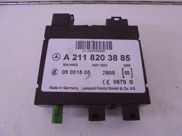 CLS-KLASSE W219 MODULE KEYLESS GO A2118203885-0
