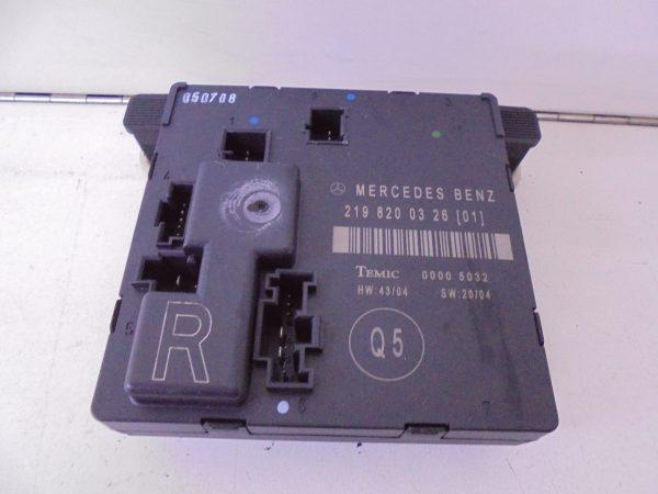 CLS-KLASSE W219 SAM MODULE PORTIER RA A2198200326-0