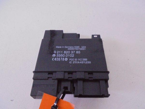 CLS-KLASSE W219 DEURMODULE KEYLESS-GO ACHTER A2118203785-0