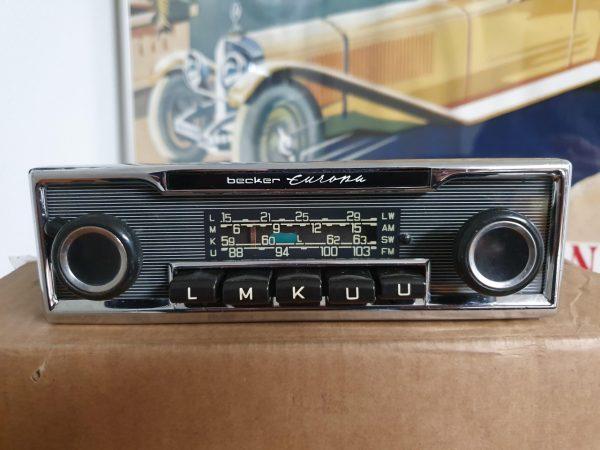 BECKER EUROPA AUTORADIO NADELSTREIFEN 60 JAREN-0