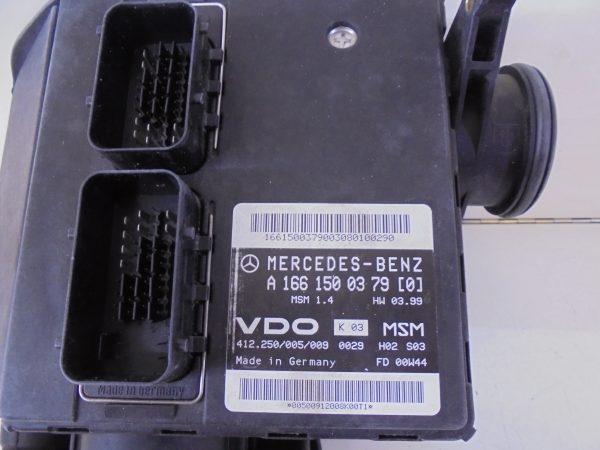 A-KLASSE W168 A160 AUTOMAAT SLOTENSET ECU COMPLEET A1661500379-10267