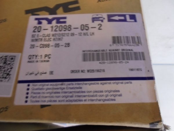 E-KLASSE W212 KOPLAMP LINKS TYC NIEUW 2012098052 A2128208161-10327