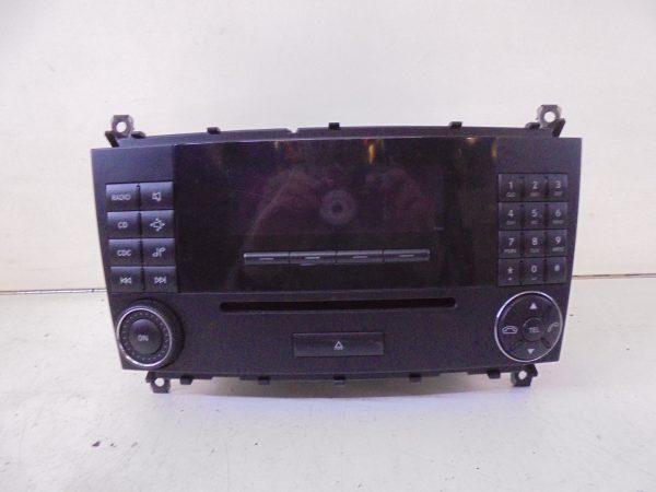 C-KLASSE W203 AUDIO 10 RDS CD SPELER A2038273842-0