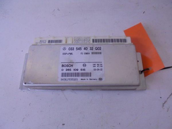 E-KLASSE W211 RELAIS MODULE ESP PML A0335454032-0